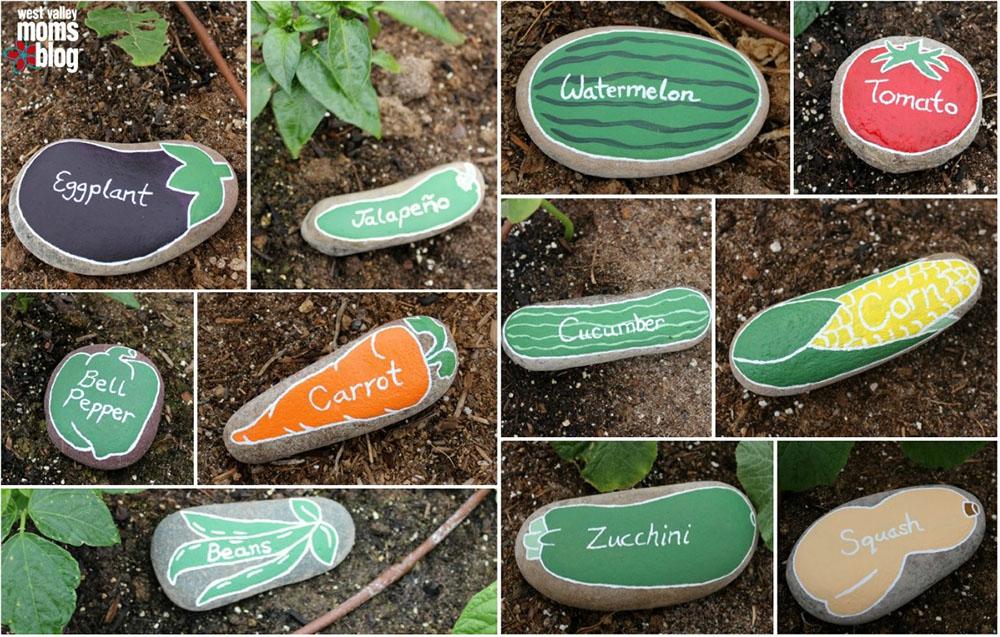 DIY: transformer des galets en marqueurs de potager