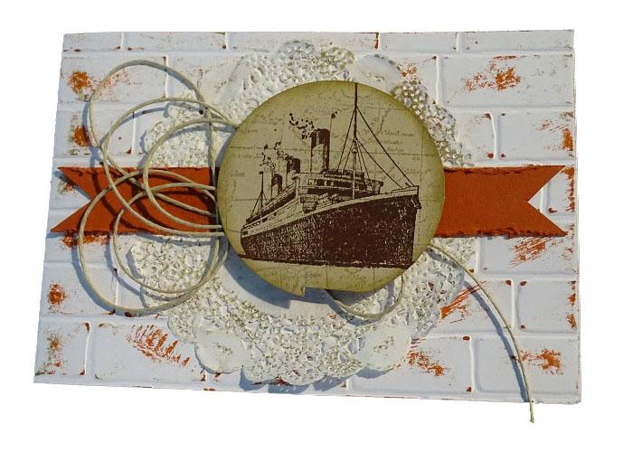 Scrapbooking: une création de Muriel Segarra