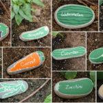 Une idée simple et créative pour faire des marqueurs de potager