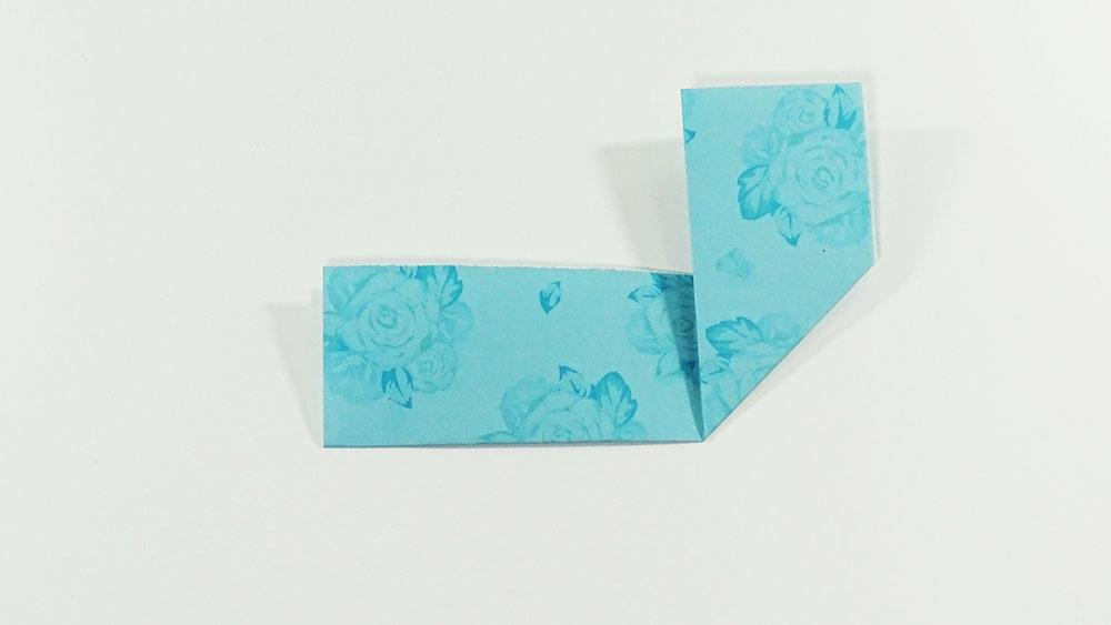 marque-page DIY coeur - étape 4a