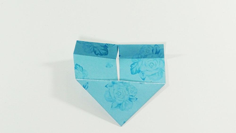 Faire un marque-page en origami - étape 5