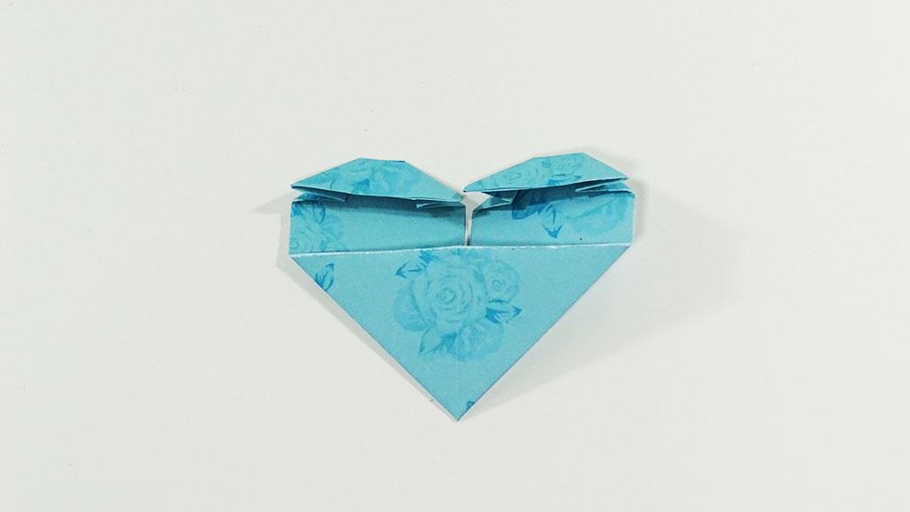 marque-page DIY coeur étape 7a