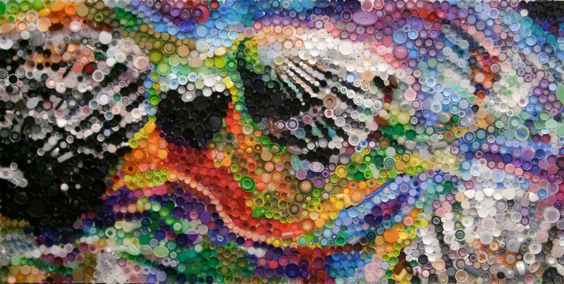 Art déco recyclage : Shells, Oil Spill