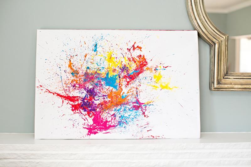 Activités de peinture pour enfants