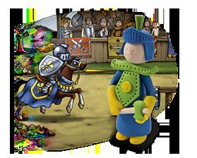Jeux créatifs - Figurine de chevalier en pâte polymère