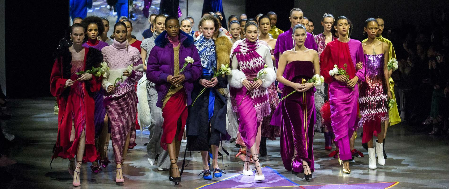 New York Fashion Week - Couleurs tendance automne hiver 2018-2019