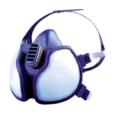 Demi-masque 3M série 4000
